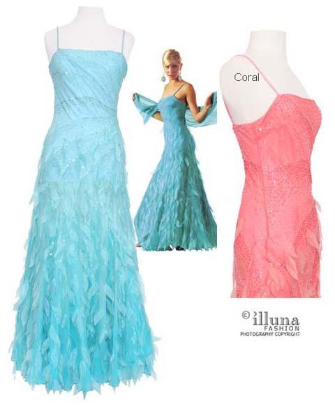 Turquoise Prom Dress - Cinderella Prom Dresses