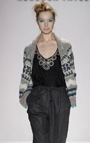 New York Fashion Week Fall 2009 Rebecca Taylor Fall Dresses Nordic Graduate