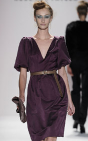 New York Fashion Week Fall 2009 Rebecca Taylor Fall Dresses German Cinema Producer